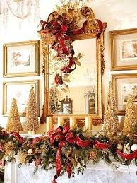 Gold Table Decorations Gold And Cream Christmas Tree Decorations Gold And White Christmas