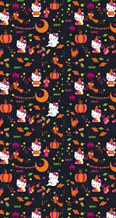 halloween background pictures for phones hello halloween llh ll0ws v pinterest hello kitty