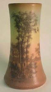 Rookwood Vase Value Vase 1907 Glazed White Clay Rookwood Pottery Cincinnati 1880