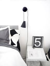 muuto dots with menu bollard in bedroom valkoisen vuoren