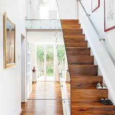 Glass Banister Uk Small Hallway Ideas Small Hallways Hallway Photo Galleries And