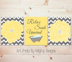 wall decor for bathroom ideas wall decoration yellow and gray bathroom wall decor lovely home