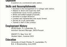 student summer job resume samples fantastic sample college