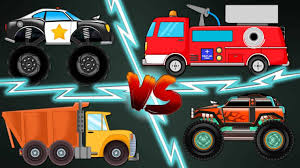 Stunt Youtube Monster Truck Videos For Kids Paw Patrol Nickelodeon