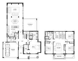 narrow lot house plan narrow lot house plans with front garage tags 4 bedroom within