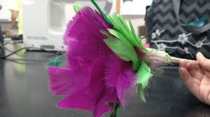 feather flower feather flower made by tracy li 8 steps