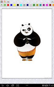 kung fu panda coloring book android free download mobomarket