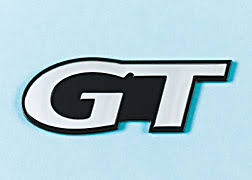mustang gt decals and emblems mustang self adhesive gt emblem used with rear honeycomb panels
