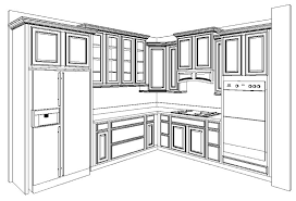 kitchen cabinet layout design kitchen design ideas