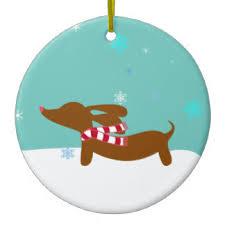 dachshund ornaments keepsake ornaments zazzle