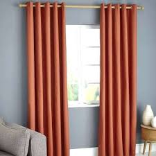 Orange Thermal Curtains Orange Blackout Curtains Elements Blackout Eyelet Curtains Orange