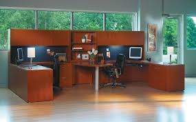 2 person workstation desk the office leader transitional lamimate mayline aberdeen 2 person