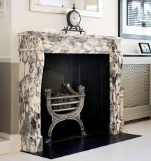 add a splash of colour with an antique marble fireplace antique