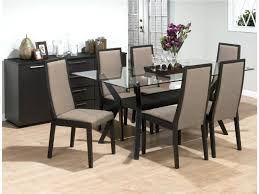 glass top dining table set 6 chairs glass dining sets 6 chairs dining table 6 chairs furniture choice