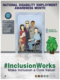 national disability employment awareness month 2016