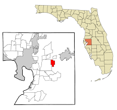 Florida Cities Map by Valrico Florida Wikipedia
