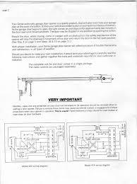 garage doors wiring diagram for liftmaster garageor opener