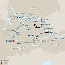Passau Germany Map by 13 Day River Cruise Munich To Basel Avalon Waterways River Cruises