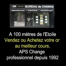 aps bureau de change achat vente or bureau de change aps