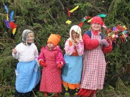 easter witches finland easter finland and