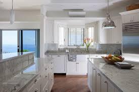 calgary white river granite kitchen contemporary with two tone