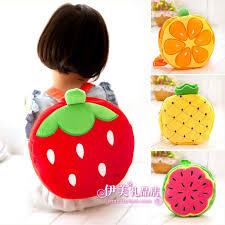 cute fruit pattern children bag kid kawaii backpack small
