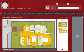 home plans in india 1000 sq ft small family house plan in india