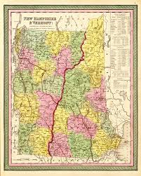 Map Of Vermont And New Hampshire Map Catalog Charles A Reeves Jr