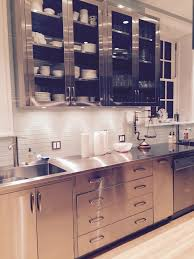 Custom Size Kitchen Cabinets Cabinets U0026 Drawer Great Ideas For Stainless Steel Kitchen