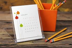 The Office Desk Calendar Pretty Calendars For Your Desk And Office Space Handmade Decor