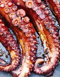 cuisiner un poulpe poulpe grillé régal