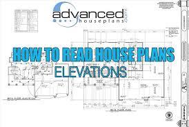 how to read house plans how to read house plans elevations
