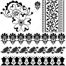 indian ornaments by sateda2012 graphicriver