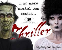 thriller odyssey dance theatre a ghoulish dance of monsters