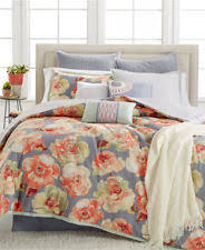 10 Pc Comforter Set Kelly Ripa Home Magnolia 10 Piece King Comforter Set Blue Floral