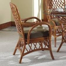 Bamboo Chairs For Sale Bamboo Dining Arm Chairs Foter