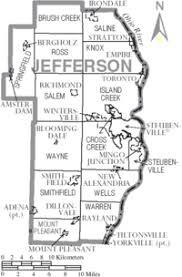 map of counties in ohio jefferson county ohio