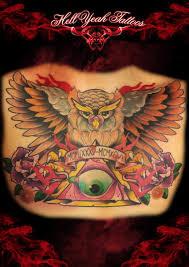 roman date owl eye of providence tattoo by hellyeah tattoos best