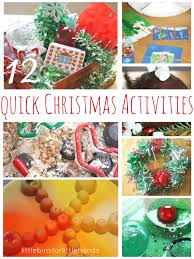 quick christmas activities for kids holiday learning ideas
