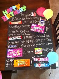 candy for birthdays birthday candy poster 30th birthday candy poster by