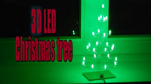 led christmas tree 3d led christmas tree