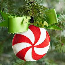 create a simple peppermint swirl ornament better homes gardens