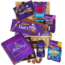 thank you basket thank you chocolate basket chocolate gifts cadbury gifts direct