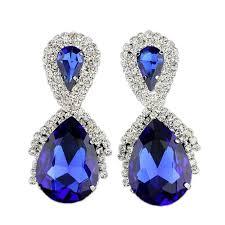 royal blue earrings aliexpress buy jlwomen earring 2016 new fashion big water