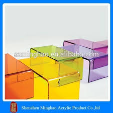 colorful occasional acrylic cube nightstand table buy acrylic