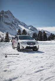 subaru outback snow subaru snow drive experience sideways fun auto class magazine
