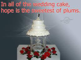 wedding quotes on cake wedding cake