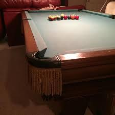 brunswick slate pool table best heirloom by brunswick slate pool table for sale in mcdonough