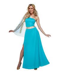 women u0027s ancient greek rome blue goddess venus aphrodite toga