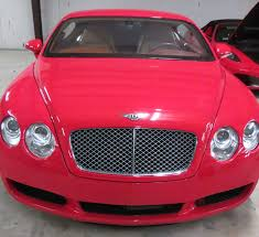 bentley coupe red 2005 bentley continental gt awd coupe 6 0 liter twin turbo v12